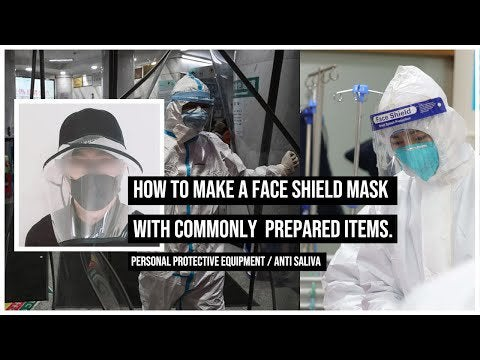 nRWVv  oXqohIooS9i9k iPB7gpoTMBUTaTRe0A4CO8 - How to make a face shield mask against the CoronaVirus. Its purpose is personal protective equipment, anti saliva, and anti virus. - home, hobbies