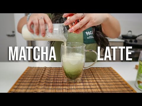 2yORS5DwHXXPL6XabPF31RcEFoKvetLKoDE5XybET U - How to make Matcha Latte 🍵 - home, hobbies