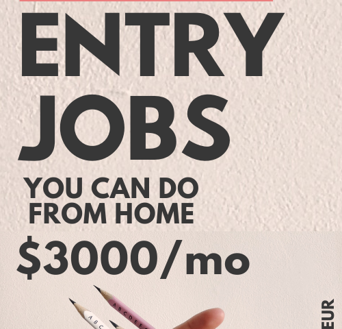 43d9a26b5619ac393e9766e3a9f0e549 500x480 - 10 Data Entry Jobs To Make Money From Home At Your Own Schedule - work-from-home