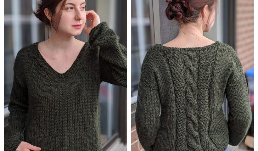 9ibc16hoxus41 820x480 - I designed a knit sweater! I've wanted to design one for so long :D - hobbies, crafts