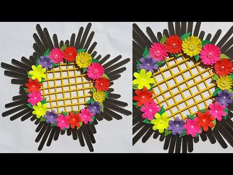 jJjiRhx5oCNkBhTos9Dif9GP5GcLseLJC9tsg7EPA E - 🌺Origami Flower Home Decor With Popsicle Sticks🌼 - hobbies, crafts