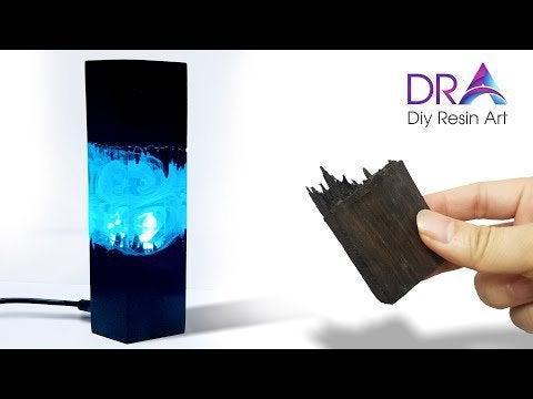 xqJqGRm 6IX1ZdJ8tKE8f6Y4i j2xVc9NhCmL2VDdCA - How to make this Nice Epoxy Resin Lamp | Diy Resin Art ideas | DRA - home, hobbies