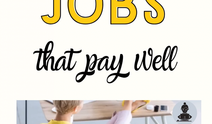 0ed270d173907ea7b4eff7784ad11427 820x480 - 15 Tried and True Mom Jobs that Pay Well - work-from-home