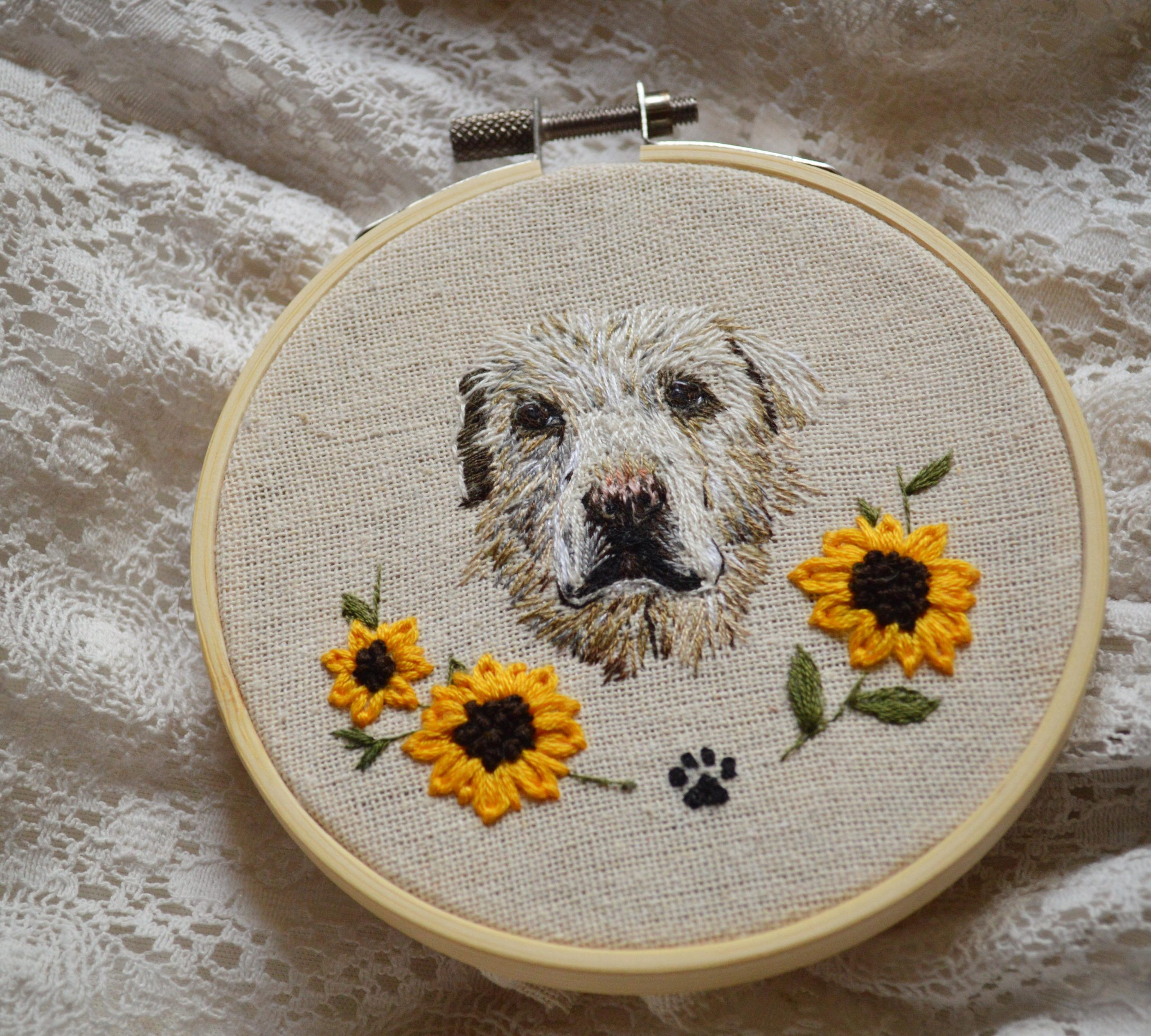 4jazv6q6g4y41 scaled - My first dog portrait and I'm pleasantly surprised by how it turned out! - hobbies, crafts