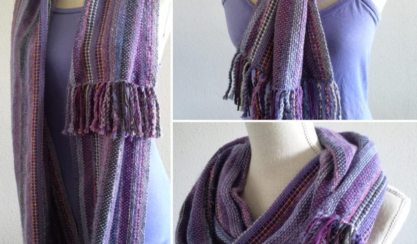 anfqnl08way41 820x480 - Infinity scarf, hand woven💫 - hobbies, crafts