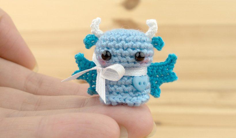 lntyq9bec5y41 820x480 - Miniature baby dragon 🐉 - hobbies, crafts