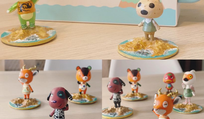 zdp7xhlb75151 820x480 - I've been 3D printing and hand painting these animal crossing villagers. - hobbies, crafts