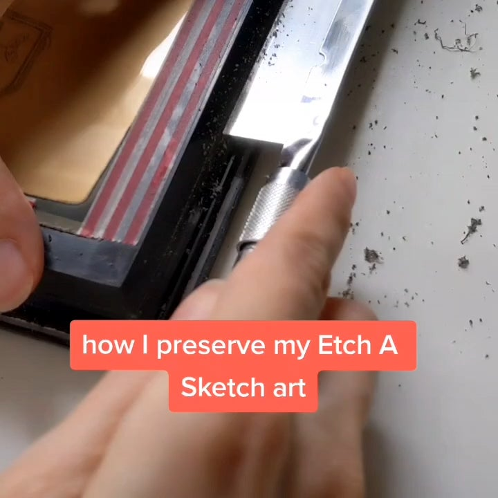 LH7PCwzCRYLdfSK70HIXUbxOfxjZr75G1H8gjZPHlTs - I'm an Etch A Sketch artist and this is how I make my art permanent! - home, hobbies