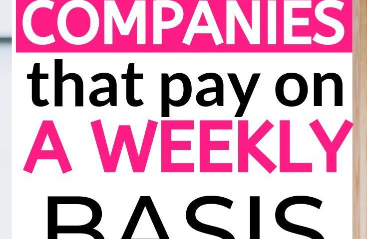 a3b1d43a75b03ae4deede3bb375119fc 735x480 - 28 Work At Home Online Jobs That Pay Weekly - Earn Smart Online Class - work-from-home