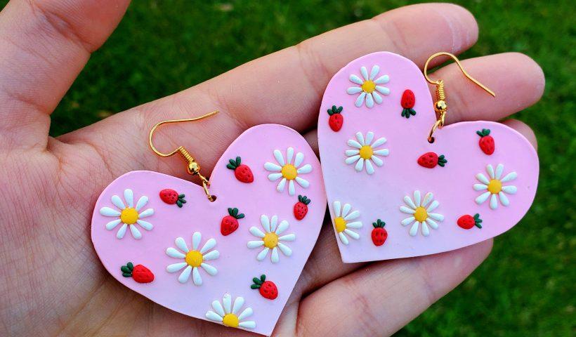 amxgrycgea451 820x480 - Earrings I made! - hobbies, crafts