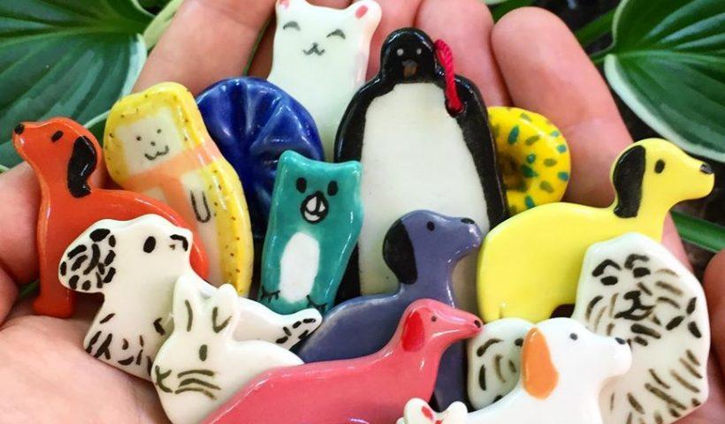 hkq06sn429751 820x480 - Ceramic Animal Magnets I Made! - hobbies, crafts