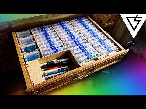 mRZ7rZejMX8IbfuUG dkiMcLwot5eEboq7zUW9BaO0E - How to make a hidden electronic components organizer - home, hobbies