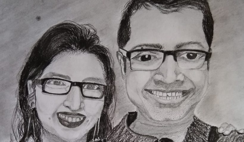 p6aqyfbmi1151 820x480 - An amateur artist drawing my first art in 3 years (basic lead pencil + charcoal pencil) -- I do see a lot of mistakes but it fills my heart with joy just to make one after so many years! Thanks Quarantine :) - hobbies, crafts
