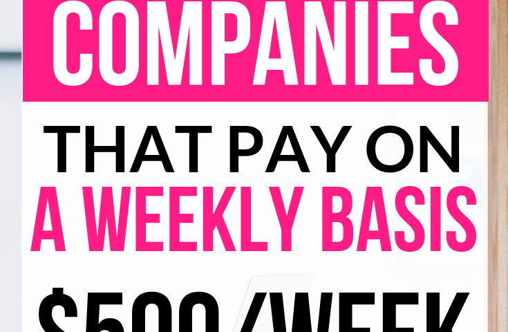 6035b3d3506dae45cc39d26b25852967 735x480 - 28 Work At Home Jobs That Pay Weekly - work-from-home