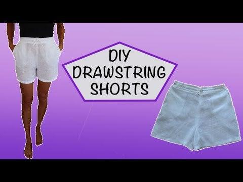 8RfHnRP6LSaRSYpglrfiEJSnGY awpq59PQ1fwdnHaY - DIY Drawstring Shorts - hobbies, crafts