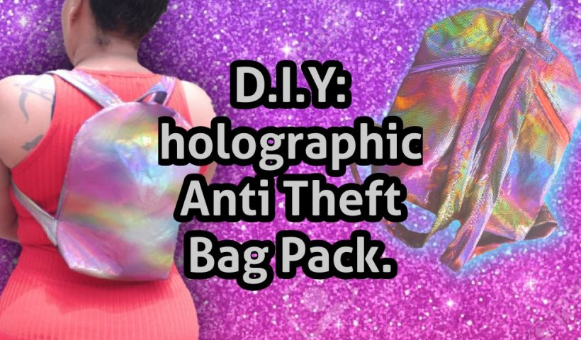 9wgj4a64mk951 820x480 - How to: D.I.Y a holographic anti theft bag pack easy #3( Epic cut-scene ... - hobbies, crafts