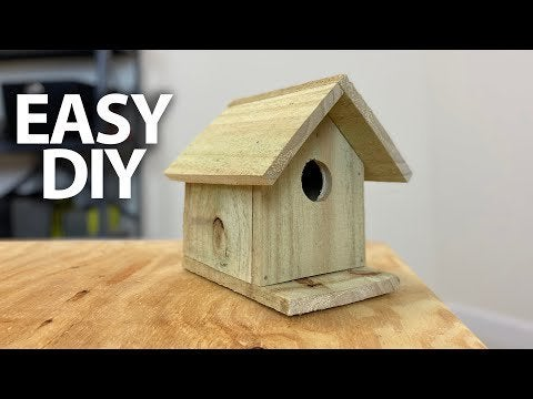NsYpKjCrms GJw3nDEBHOLOn87wu7Udg6KUiiztl2oA - EASIEST DIY Simple Birdhouse with Minimal Tools Step by Step. Hope you enjoy this project with the family over the weekend! - home, hobbies