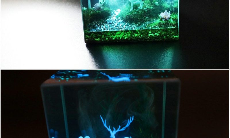 b4me4h83w8751 800x480 - Made a patronus resin diorama - hobbies, crafts