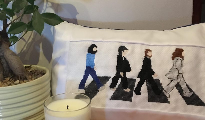 c7713paz2h951 820x480 - I made this cross-stitch pillow for my friend's 18th birthday. It took my ages and I'm so proud of it! I made the pattern from scratch. - hobbies, crafts