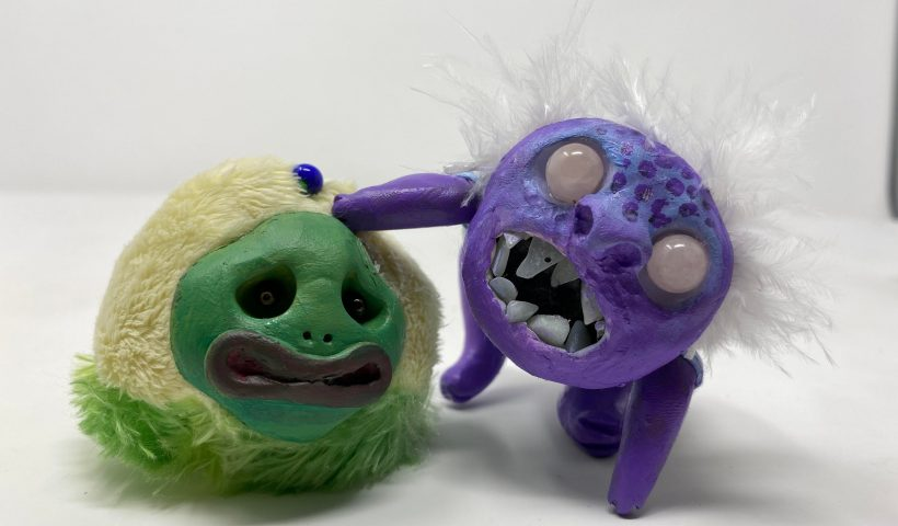 s1a3ujwfdc951 820x480 - A couple of my fabric/polymer clay creations! - hobbies, crafts