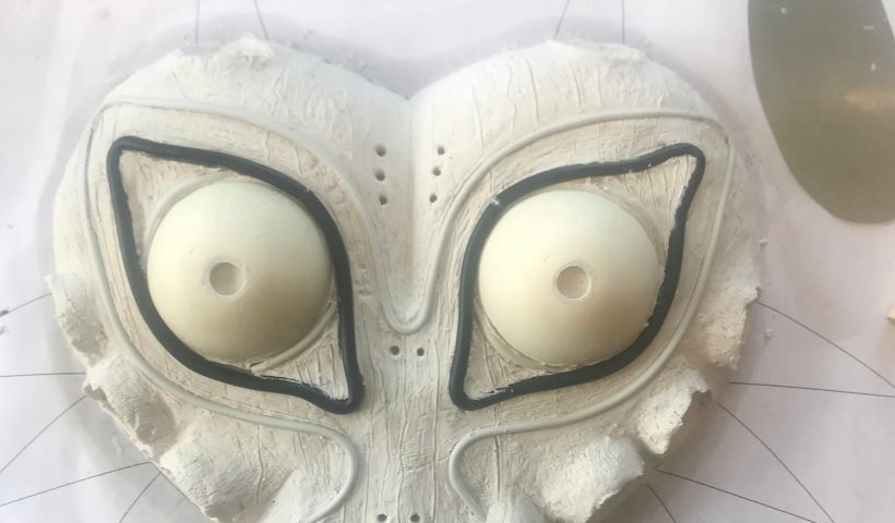 0b064w7zdpe51 820x480 - Majora's Mask Clay sculpture... soon to be silicone mold. Any advice on what I should do with it. - hobbies, crafts