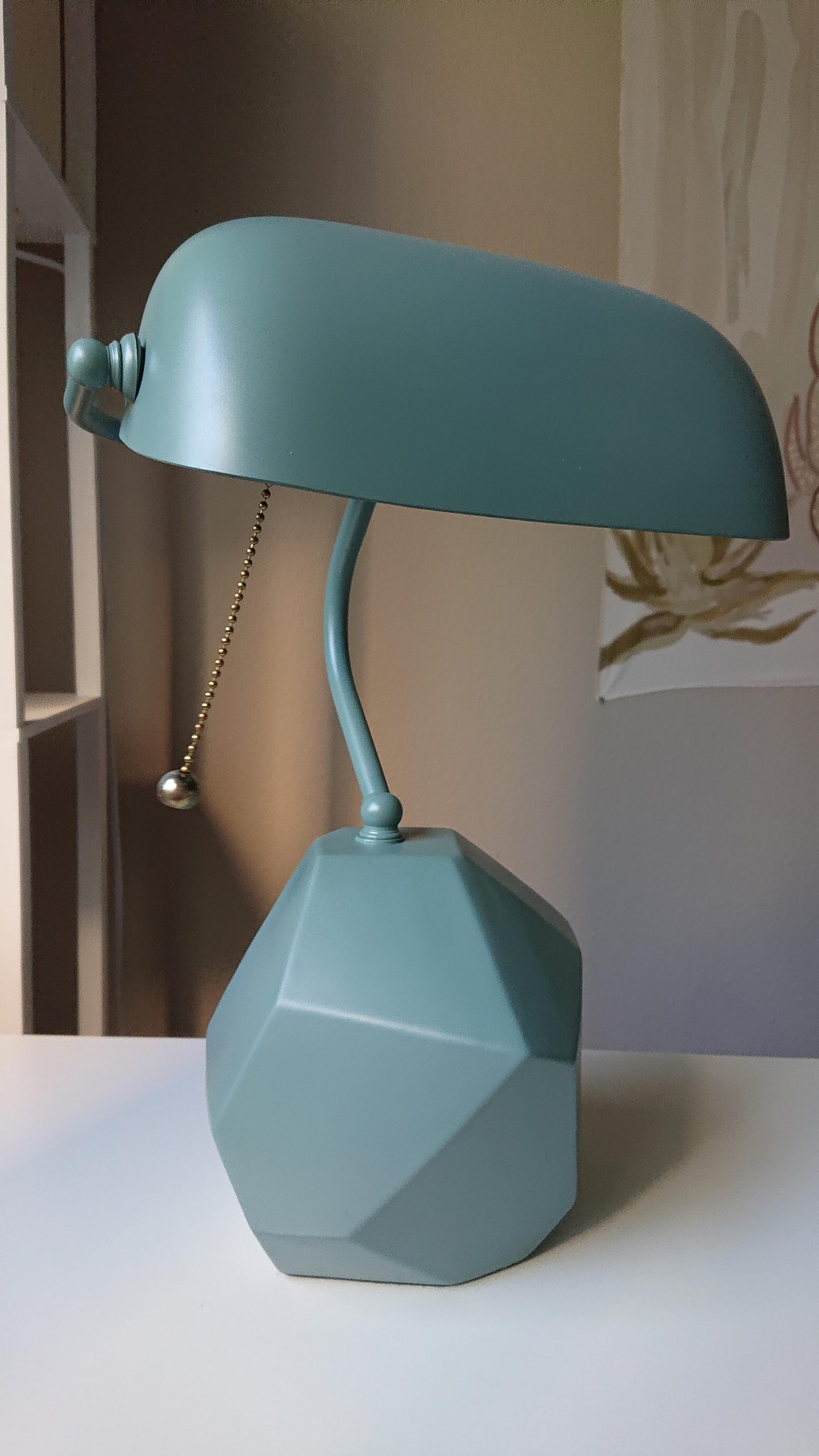 2h2lb8bzuhe51 scaled - A little spray paint made this a whole new lamp. Used to be black and glossy - hobbies, crafts