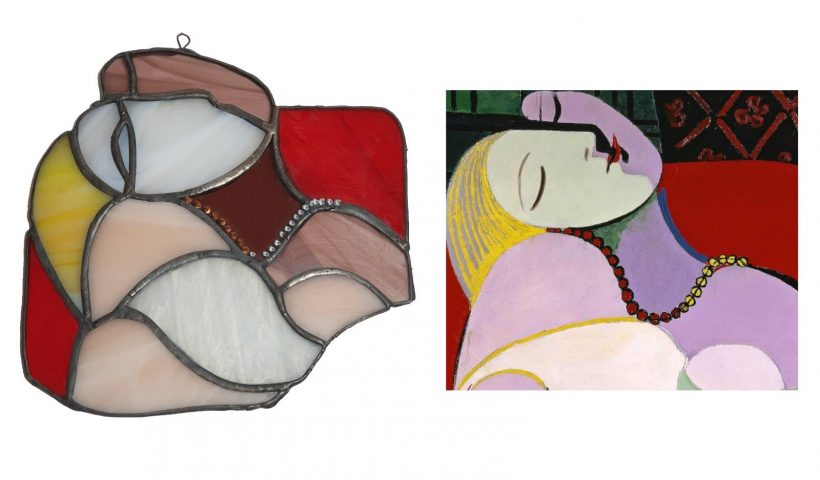 """3vq4pqltm4j51 820x480 - I tried this homage to Picasso's """"Le Reve"""" - what do you think? - hobbies, crafts"""