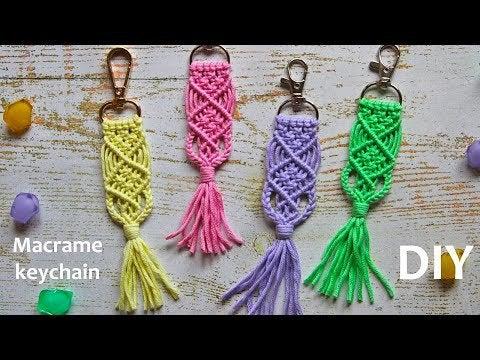 H5t1EmtQa8Zizh4xdxEPtTy7t9KqeFGQfrF8hHd18Zs - Macrame Keychain | Macrame Tutorial | Макраме брелок | Macrame DIY | Mac... - hobbies, crafts