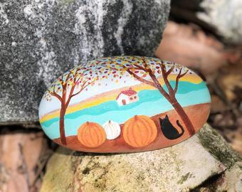 b8gptjslz8j51 - I tried a fall themed painted rock - hobbies, crafts
