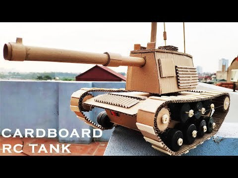 q7oBPqPJ PP0z cQfBAsJqI KWUweFo00fhVXhncJ6g - How to make Cardboard FUNCTIONAL RC Tank that Sh00ts (detailed measurement) - home, hobbies