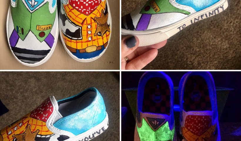 tx8evh59l9j51 820x480 - Toy Story hand painted shoes - hobbies, crafts