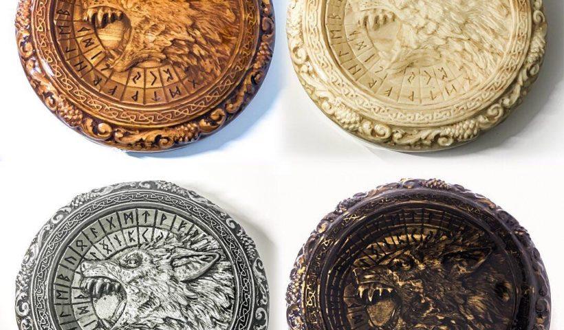u6fcgaujhcj51 820x480 - Update: Fenrir coasters are finally finished! - hobbies, crafts