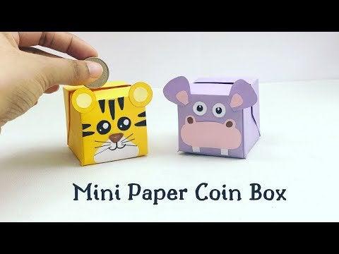 7hDtf7Nt VdHE4ywc0Har4y2b IqODqN798ISv8XT4Y - Paper coin bank - hobbies, crafts