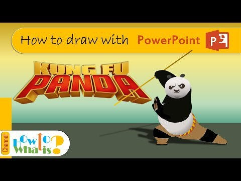 D31YISEl9GQcg1LHkC6PAd8rt1 3SJcZD2lPgMc5Mzc - [How To] - Kung Fu Panda - How to draw with power point (PPT) - home, hobbies