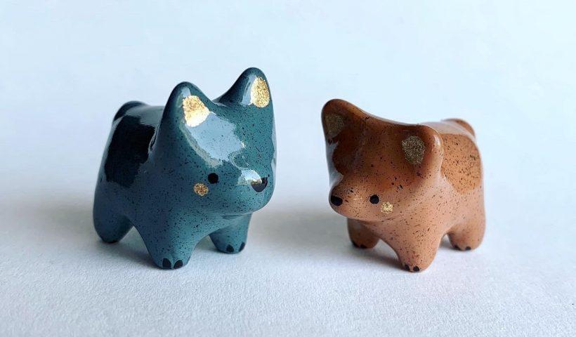 HuTcmdaBFnt NuNoenLuvfNJwCuLpdGdUZIt zSyqis 820x480 - I made some little polymer puppies! - hobbies, crafts
