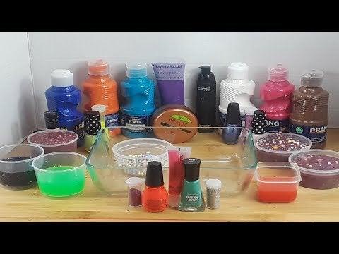 LiOc73TLi8j0mosj2oWKhEvdxf4Uv3TLsLB NLCdKEY - Mixing Slime, Paint, Makeup, Eyeshadows and MIXING into Slime ASMR - hobbies, crafts