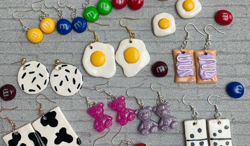 f6t9xfzh27m51 820x480 - More handmade earrings from polymer clay! 💖 - hobbies, crafts