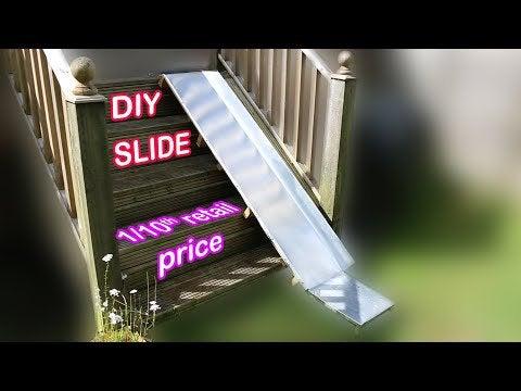 h oxilRI7Cp UK3R5NoXwkedHtqeA3UBhwpi5P9GgGg - How to make a quality kids' slide! - home, hobbies
