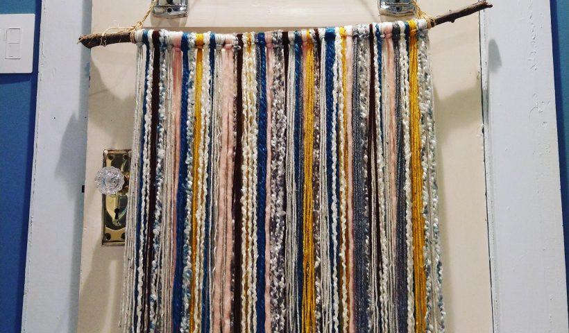 jgzw0v9u9gm51 820x480 - My first large yarn wall hanging - hobbies, crafts