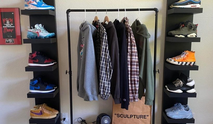 ku3a631n44j51 820x480 - Look at the shoe and dress display rack I made. What do you think? - hobbies, crafts