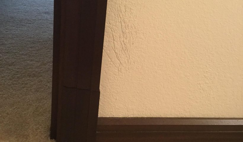 tdfx2esmv5h51 820x480 - Our precious kitten decided to start waking us up by scratching the wall of his room. Is there a way to seamlessly fix this to where it also matches the texture of the original paint? - home, hobbies