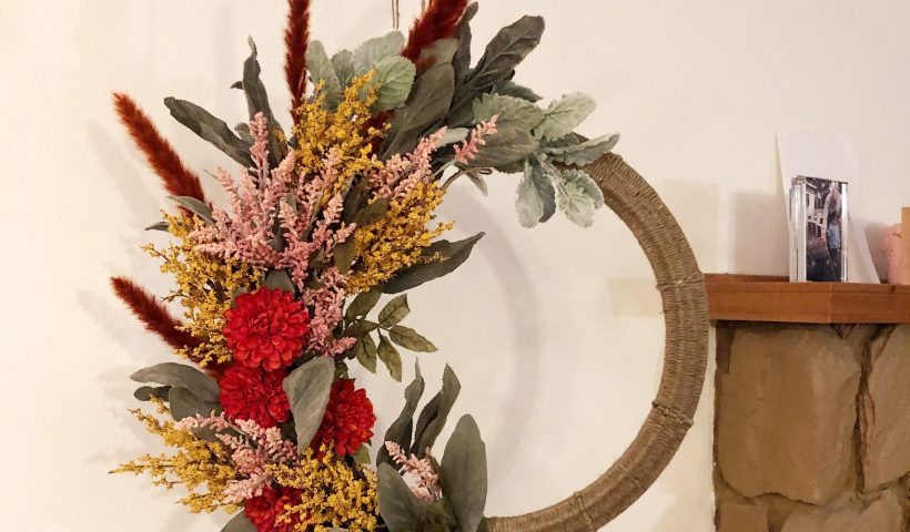 tl6fos7j29m51 820x480 - I tried my hand at making a fall wreath, and I'm pretty happy with how it turned out. - hobbies, crafts