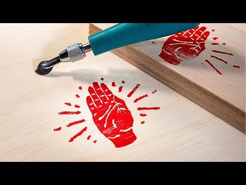 yW EuKUmE637U  eBuyfkwH4vl6iQPJ7bEaKkanfAhU - I made a video showing how you can make a very easy custom stamp to put your logo on wood or other materials. - home, hobbies