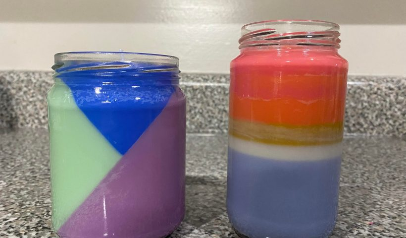 yjiw2184y4j51 820x480 - Tried my hand at making candles! - hobbies, crafts