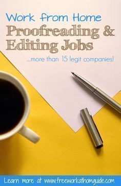 052753f0757314560c5939dd1720f258 - Proofreading & Editing Jobs - Free Work at Home Guide - work-from-home