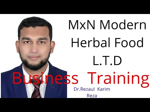 1602055857 hqdefault - Mxn Modern Herbal Food L.T.D Business Training By Rezaul Karim Reza - training, business