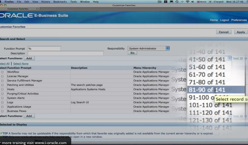 1602920129 maxresdefault 820x480 - Oracle Training - Navigating in Oracle E-Business Suite R12 - training, business