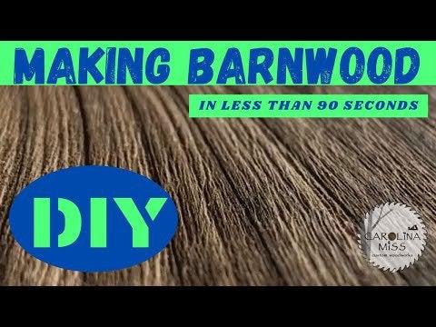4GubdMgkBjot0QzcUXHihf8btCV1BswTt ISYIpRrxs - DIY Alder Rustic Barn Wood in less that 90 seconds!! - home, hobbies