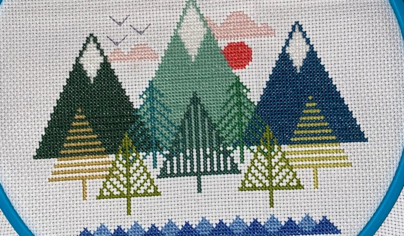 7vjxr7c9brt51 820x480 - My mom taught me how to cross stitch when I was about 5 years old. I just finished my first pattern in about 24 years! - hobbies, crafts