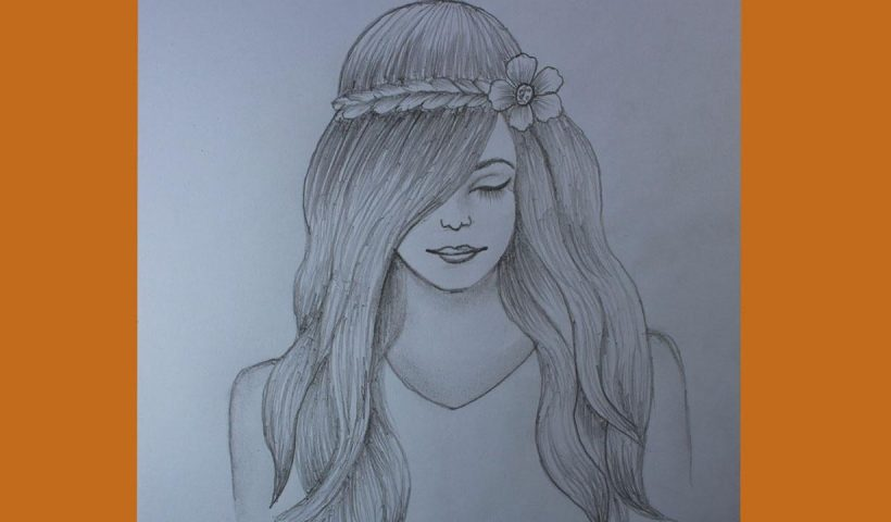 88d8iqtz25p51 820x480 - How to draw a girl with beautiful hair - home, hobbies